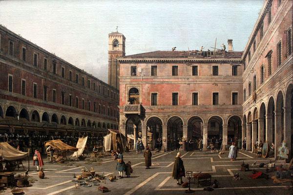 Canaletto, Campo di Rialto (1758-1763)