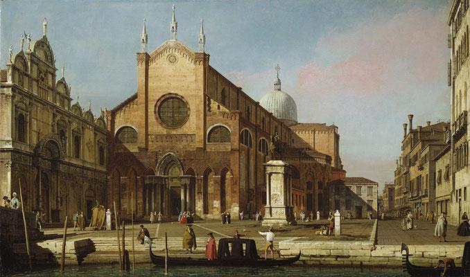 Canaletto, Campo SS Giovanni e Paolo (1736-1740)