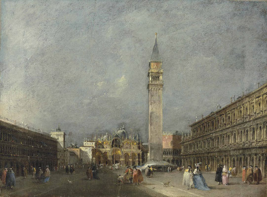 Francesco Guardi, Piazza San Marco