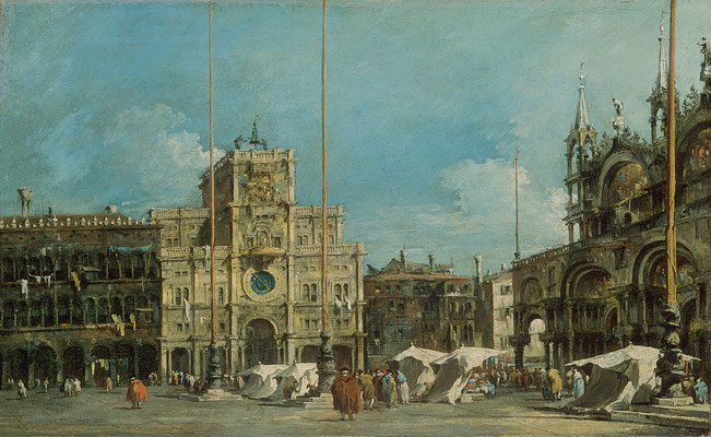francesco Guardi, La Torre dell'Orologio