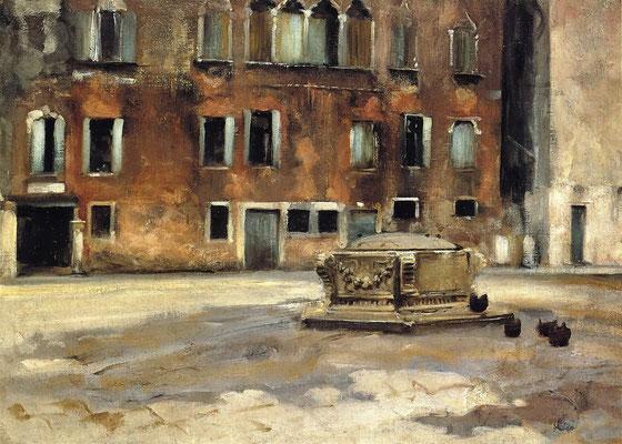 John Singer Sargent, campo Sant'Agnese