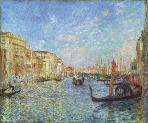 Pierre-Auguste Renoir, Le Grand Canal à Venise