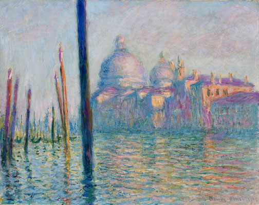 Claude Monet, Le Grand Canal à Venise
