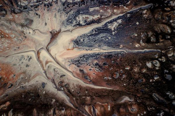 2015-206-5, untitled, acrylics +mixed media + glue on hardboard