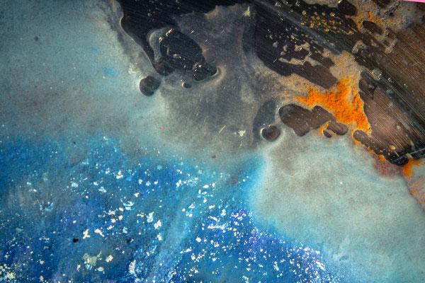"2016-06-3, ""magma and ice"", floating acrylics"