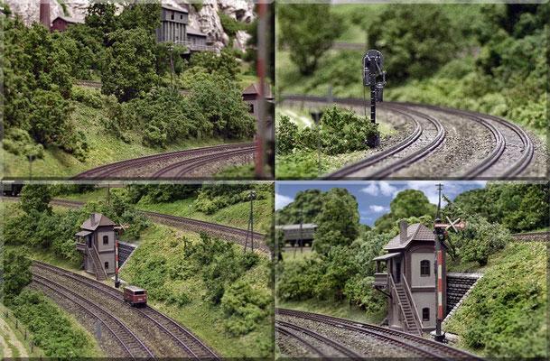 Impressionen von der Hauptbahn!                           Form-Hauptsignal von Brawa | Form-Vorsignal von Trix/Minitrix.