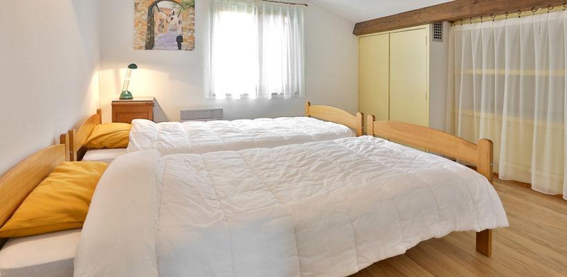 Des chambres confortables au Domaine de la Licorne