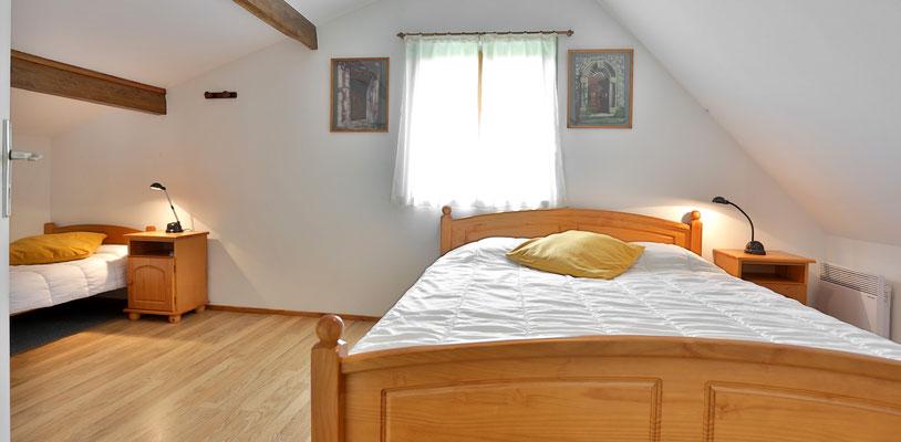 Chambres silencieuse et lumineuse pour un repos parfait