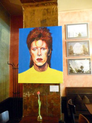 """Das Bild """"Bowie's Sparkle"""" von Jennifer Jennsel und Willi Büsing"""