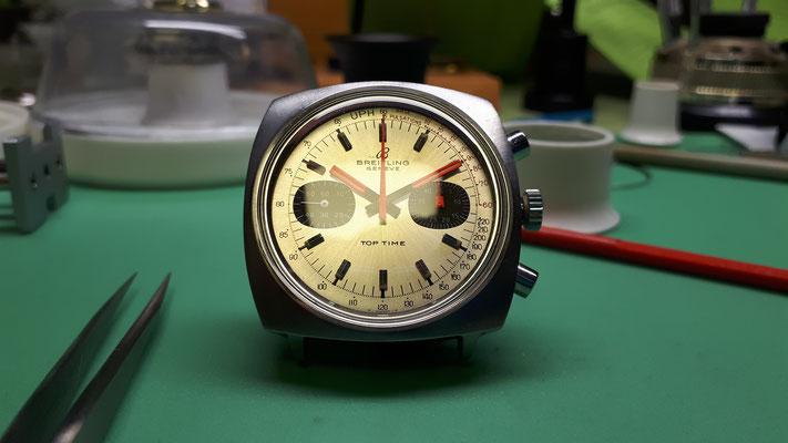 Breitling Chronographen Werk Uhrmachermeisterwerkstatt im Schwarzwald in Elzach und Umgebung