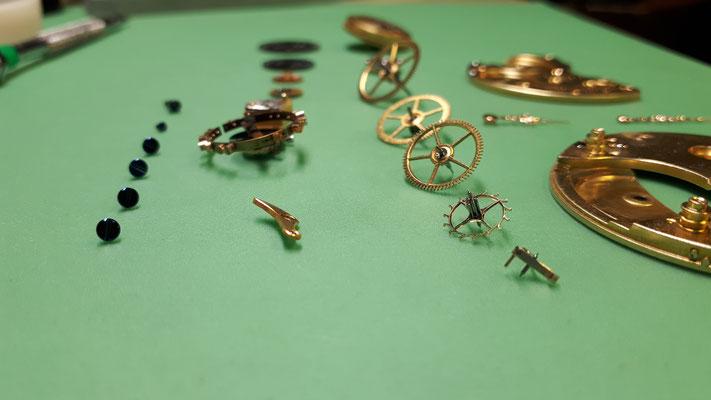 Glashütte Original Taschenuhr Reparatur Uhrmacherwerkstatt im Schwarzwald in Elzach und Umgebung