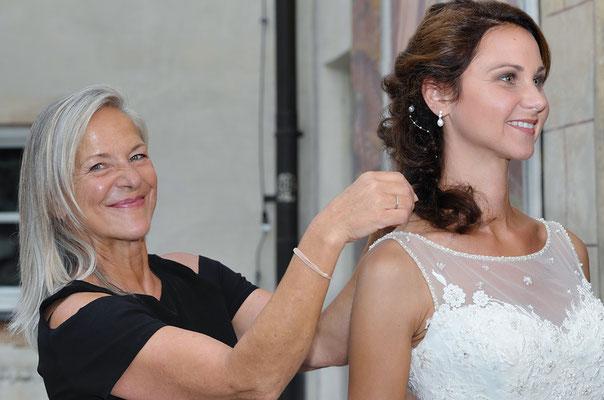 Maskenbildner, Brautfrisur