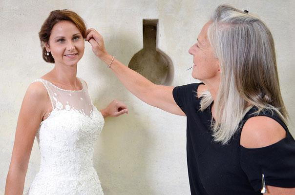 Maskenbildner, Hochzeit