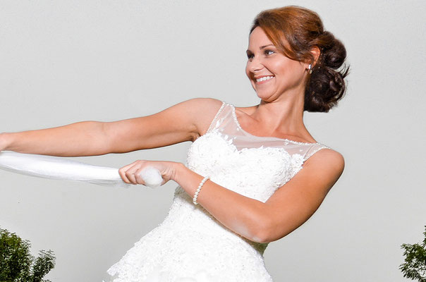 Maskenbildnerin , Hochzeit