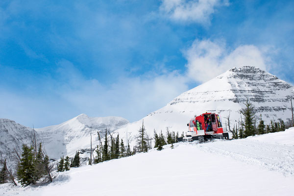 Ein Traum für alle Wintersportler: der Castle Mountain © Travel Alberta, Anthony Redpath