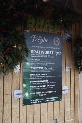 Bratwurst, Weißwurst, Wiener und Co. - die Kanadier lieben deutsche Leckereien