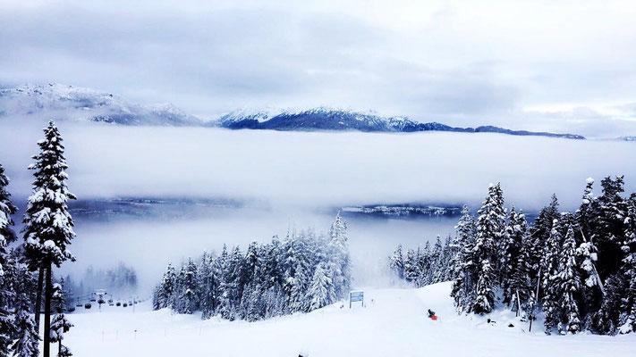 Janina erlebte mit anderen internationalen Schülern tolle Wintertage in Whistler