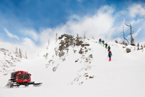 Die Ski Acaemy verspricht Abenteuer pur © Travel Alberta, Anthony Redpath