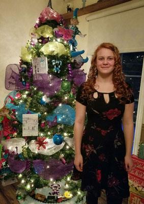 Ein kunterbunter Weihnachtsbaum