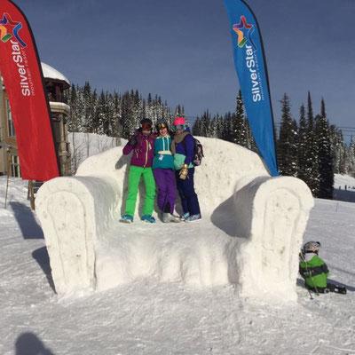 Das Silverstar Skigebiet bietet jede Menge abwechslungsreiche Pisten und eine grandiose Aussicht