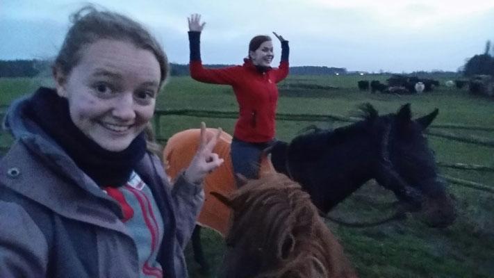 Die 16-jährige Celia reitet für ihr Leben gern