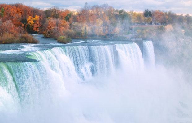 Die Niagarafälle in Ontario