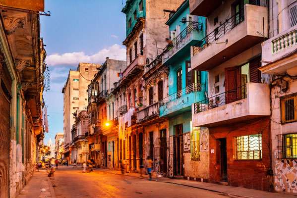 Wohnviertel in Havanna