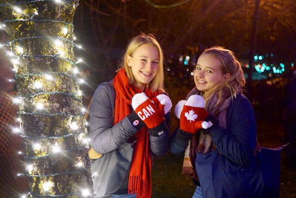 Fingerwärmen auf kanadisch - Janina und ihre Freundin erleben Nanaimo im Winter