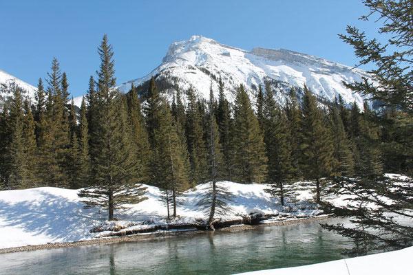 Der Banff-Nationalpark in Alberta begeistert die Schülerinnen