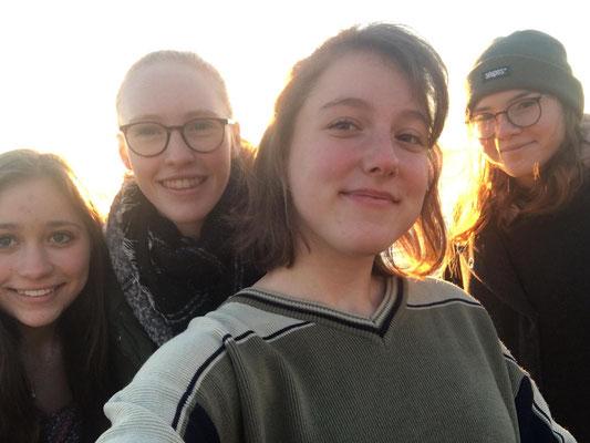 Ihr Auslandssemester verbringt Nina bei einer Gastfamilie in Kanada.