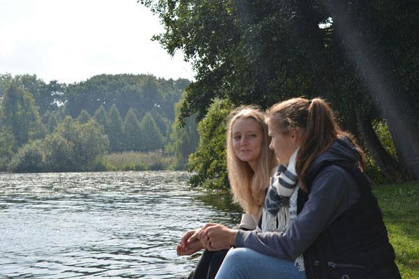 Diesen Sommer wird Celia nicht im Schlossgarten in Schwerin verbringen, sondern auf Vancouver Island
