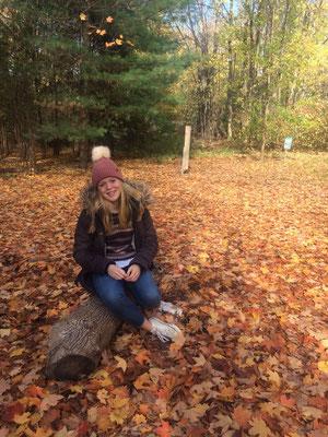 Anna genießt den Beginn des Indian Summer - Heimweh ist für sie ein Fremdwort