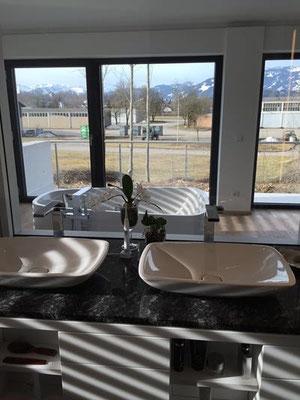 Herz & Wesch Neubau Bad und Gästebad Sonthofen
