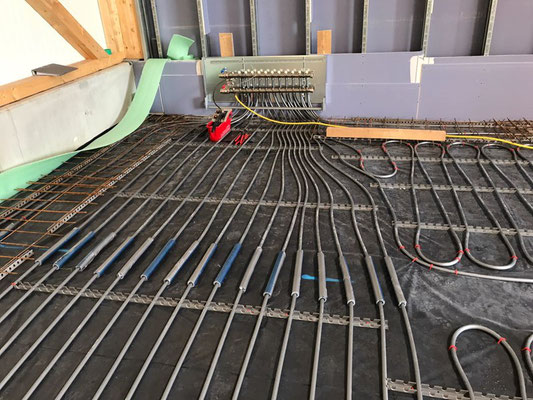 Herz & Wesch Industrieflächenheizung (Betonkernaktivierung) Sulzberg
