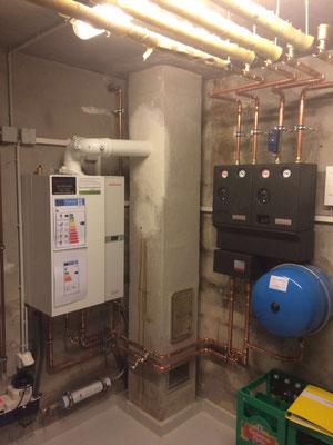Herz & Wesch Umbau von Öl- auf Gasheizung Burgberg