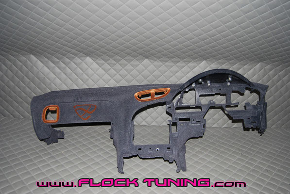 beflocktes armaturenbrett mazda rx7 fd3s