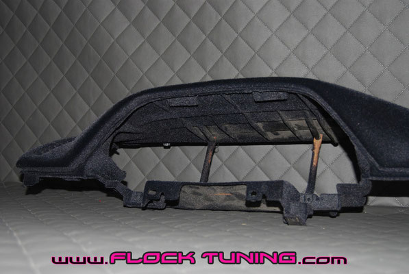 beflocktes armaturenbrett mazda 323 turbo
