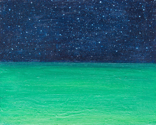 horizonte5,   油絵 / Oil Painting,  2017