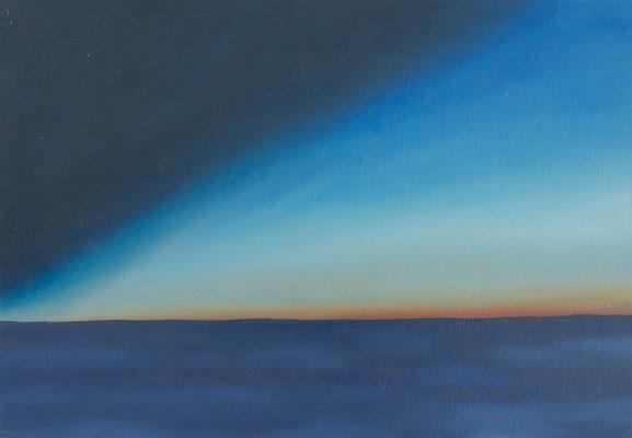 horizonte4,   油絵 / Oil Painting,  2017
