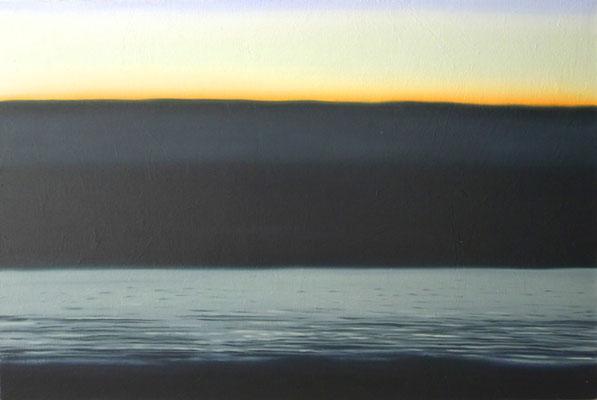 horizonte1,   油絵 / Oil Painting,  2017
