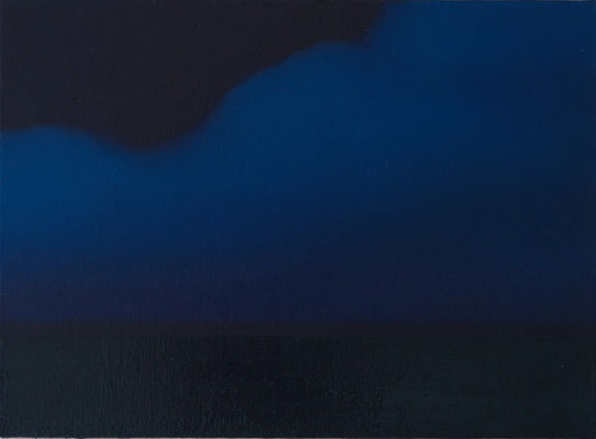 horizonte2,   油絵 / Oil Painting,  2017