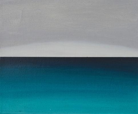 horizonte3,   油絵 / Oil Painting,  2017