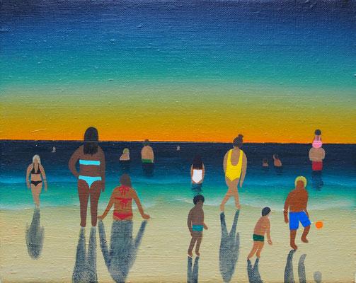 また明日 / Até amanhã,   油絵 / Oil Painting,  2019