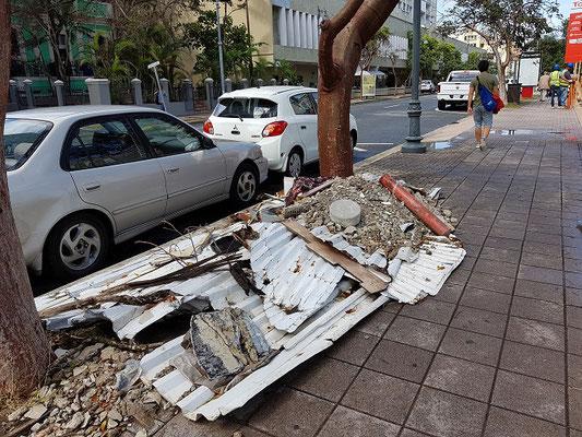 Schäden des Hurricanes Irma sind leider noch sichtbar