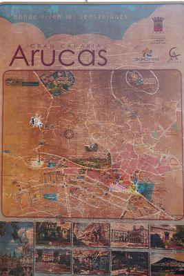Ein alter Stadtplan