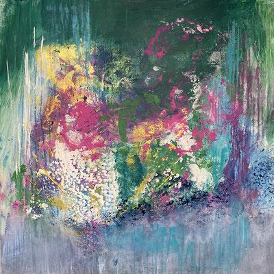"""""""Frühling"""" 80 x 80 cm - 856,- Euro"""