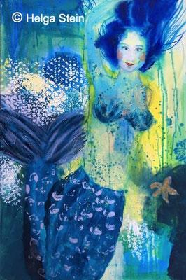 Meerjungfrau 80 x 120 cm - 1070,- Euro