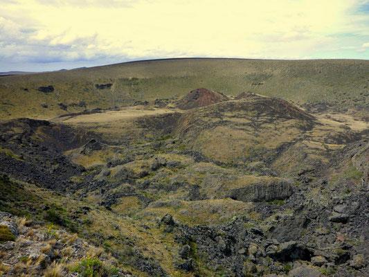 2km Durchmesser missst dieser Krater