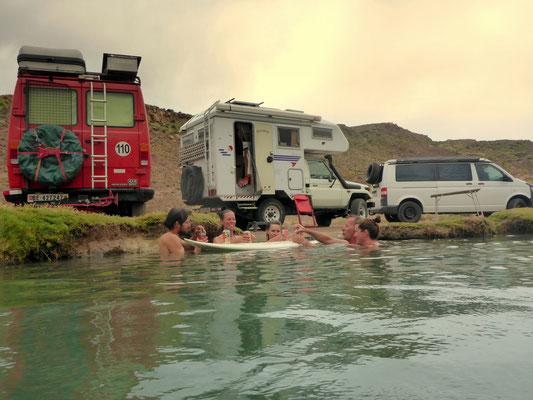 Im Ojo del Inca mit SurfBAR