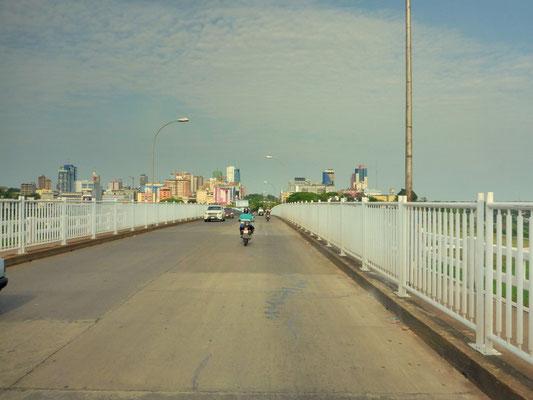 Grenzübertritt nach Paraguay